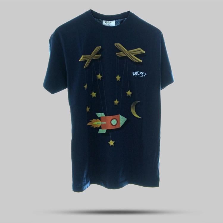 """Das erste Rocket Science """"Puppetmaster"""" Shirt. Gottgleiches Stöffchen ... made in space. Nicht nur für den gottesunfürchtigen Atheisten von heute."""